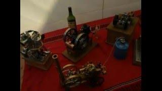 miniature moteur a alcool et a essence