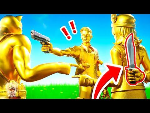 FIND the GOLDEN KILLER... or ELSE! (Fortnite Murder Mystery) |