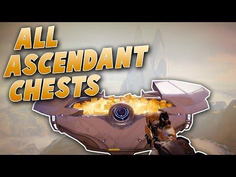 All Weakest Curse Ascendant Chest Locations! - (Destiny 2 Forsaken)