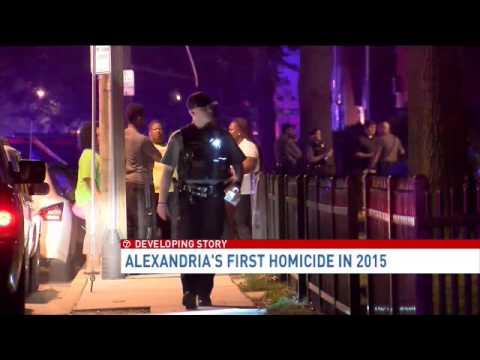 First homicide in Alexandria, Va in 2015