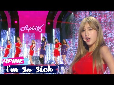 [Comeback Stage] [쇼음악중심]Apink -  I'm so sick  , 에이핑크 - 1도 없어 Show Music core 20180707