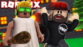 I AM A GRANNY AND I SCARED MY DAD in ROBLOX