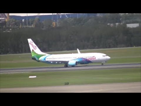 Air Vanuatu 737-800 [YJ-AV8] Takeoff From Brisbane Airport