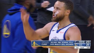 Stephen Curry Secures 2020-21 NBA Scoring Title!
