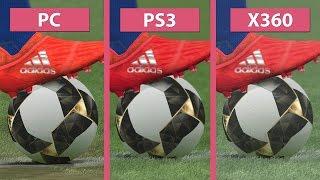 PES 2017 – PC vs. PS3 vs. Xbox 360 Graphics Comparison