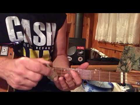Gimme 3 steps lesson for 3 string Cigar Box Guitar
