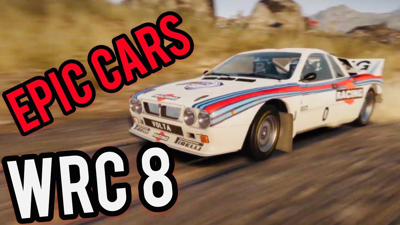 WRC 8 - EPIC CARS TRAILER