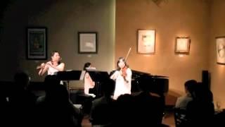Ensemble Liri Spring Concert 2012@恵比寿アートカフェ フレンズ Mome...