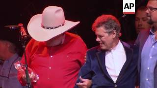 Country Music Hall of Famer Charlie Daniels celebrated his 80th birthday jamming in Nashville