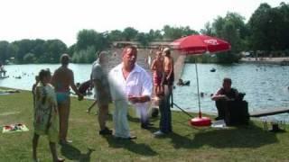 """Wim Schurer zingt """"de speelman"""""""