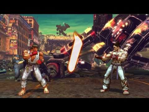 Street Fighter X Tekken - gameplay trailer #2 (2011) Captivate 2011 Capcom - 동영상