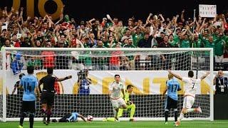 México arranca la Copa América Centenario venciendo a Uruguay