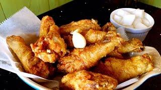 Korean Fried Chicken Wings And Drumsticks Gluten Free Soy Garlic Sauce Recipe