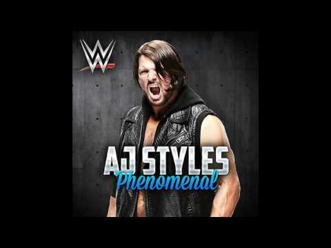 WWE: (AJ Styles) - ''Phenomenal'' [Arena Effects+]