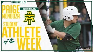 Arkansas Tech Student Athlete of the Week - Paige Mendoza