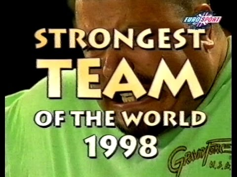 The world strongest man team chamionships 1998 (Eurosport)