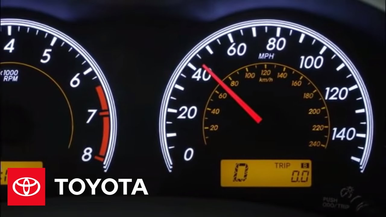 2010 corolla how to cruise control toyota [ 1280 x 720 Pixel ]