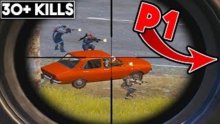 CAN I SAVE P1 FROM A FULL SQUAD? | 30+ KILLS | PUBG Mobile