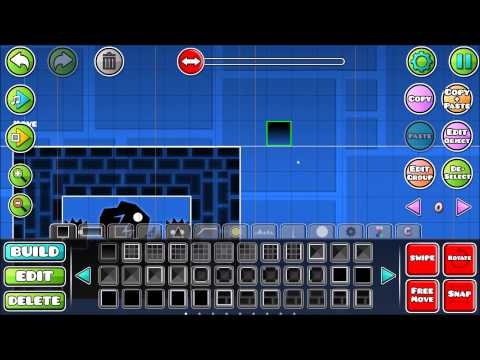 [Geometry Dash] How To Make Moving Blocks In 2.0