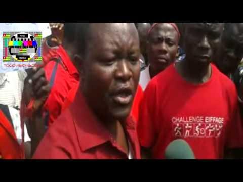 Manifestation des transitaires et opérateurs du Port autonome de Lomé