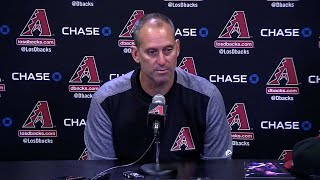 STL@ARI: Lovullo discusses tough loss to the Cards