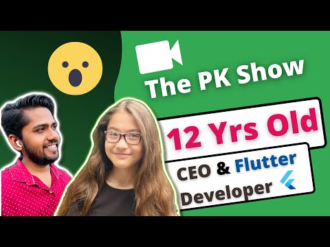 Interviewing 12 Years Old CEO & Flutter Developer 😮   The PK Show   Sumay McPhail