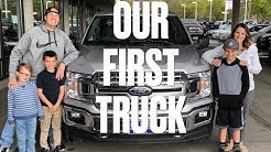 BUYING A NEW TRUCK | FIRST TIME TRUCK BUYERS | WE BOUGHT A NEW 2018 FORD F150!