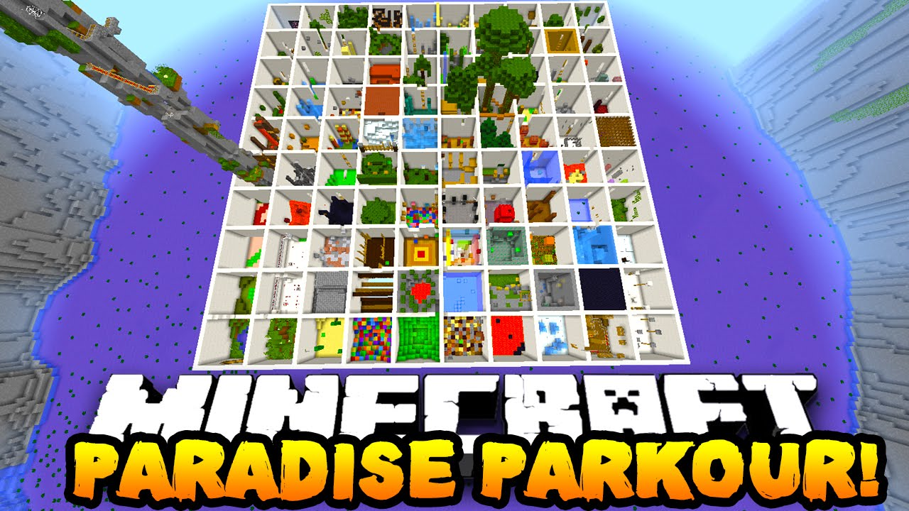 Parkour Minecraft Map