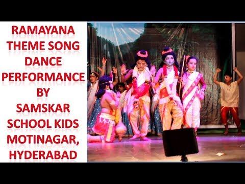 Ramayana Theme Song Dance Performance by Samskar school