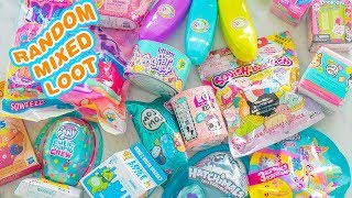 So MANY! Random And Mixed Loot Blind Bag Toys Unboxing #1