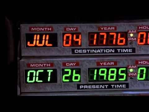 the flux capacitor from Back to the Future