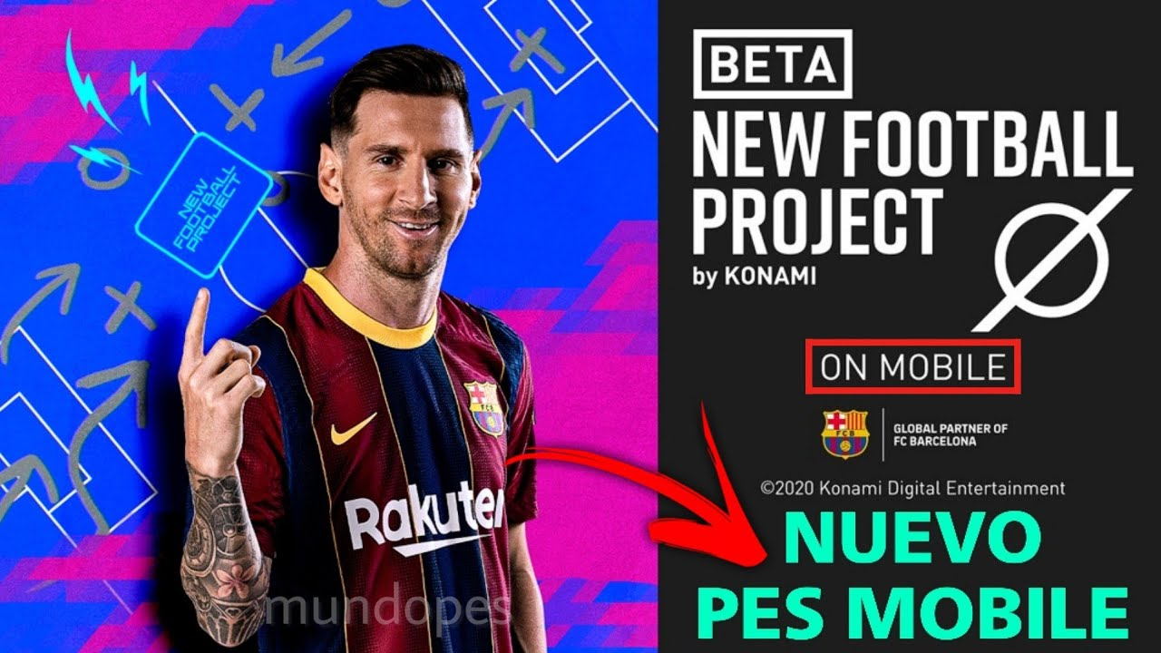 "KONAMI SACA UN ""NUEVO PES MOBILE""🔥NEW FOOTBALL PROJECT *Nuevo Football Manager*"