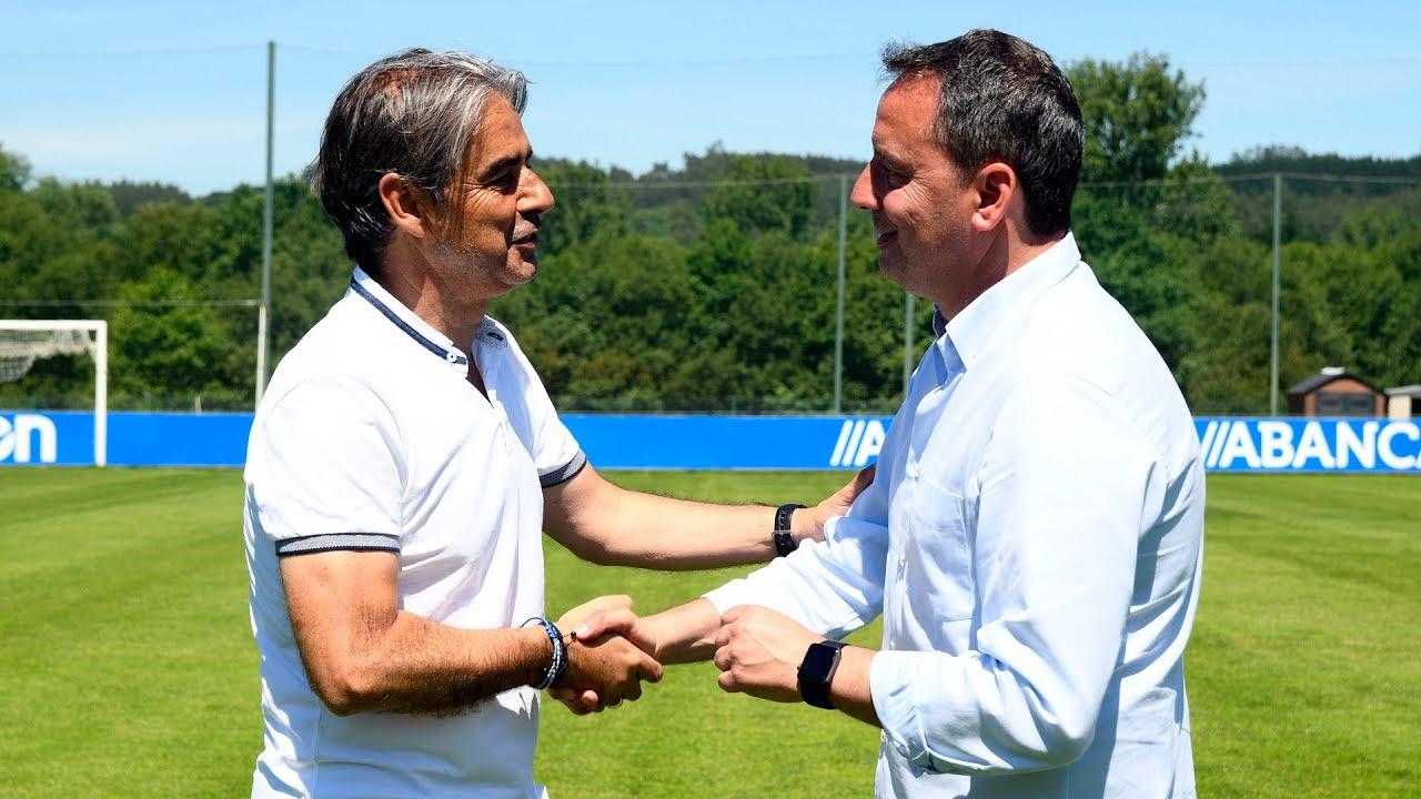Natxo González e Tito Ramallo, novos adestradores do #Dépor1819