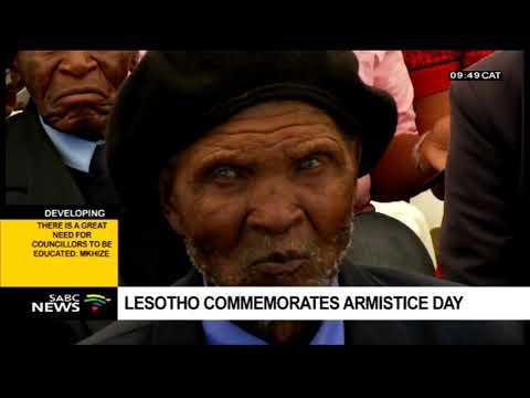 Lesotho commemorates WW1