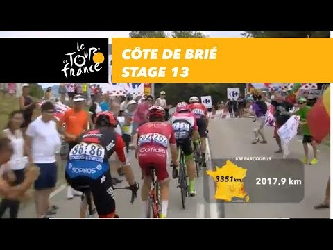 Côte de Brié  Stage 13  Tour de France 2018