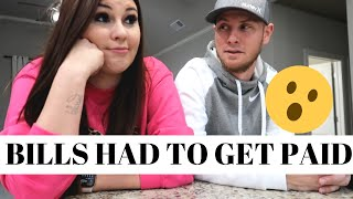 BILLS HAD TO GET PAID | DAY IN THE LIFE | ASHLEYANDCHASE