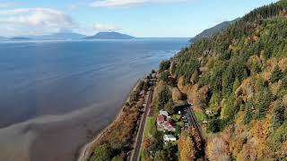 Chuckanut Drive WA, Drone Footage 4K   2020
