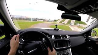Легкий проезд на Range Rover Sport по внедорожной части JLR Experience