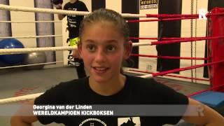12-jarige Rotterdamse 'Lady Killer' wint WK Kickboksen