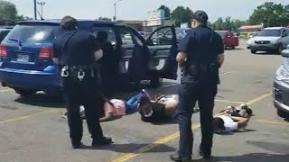 Black Family Handcuffed by Police After License Plate Mixup