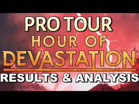 Mtg: Pro Tour Hour of Devastation Coverage: Top 8 Decks, Meta Analysis, and Discussion