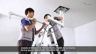 (Spanish Subtitles) LUVIS M200, L200 Dual Ceiling Type - Installation Manual