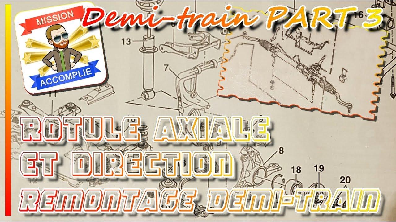 changer rotule axiale et direction remontage complet peugeot 407 citroen c5 demi train part3. Black Bedroom Furniture Sets. Home Design Ideas