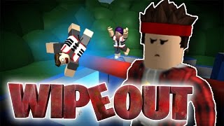 WIPEOUT CHALLENGE! - Roblox Wipeout!