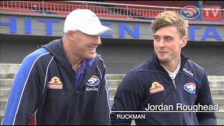 Barry Hall interviews Jordan Roughead