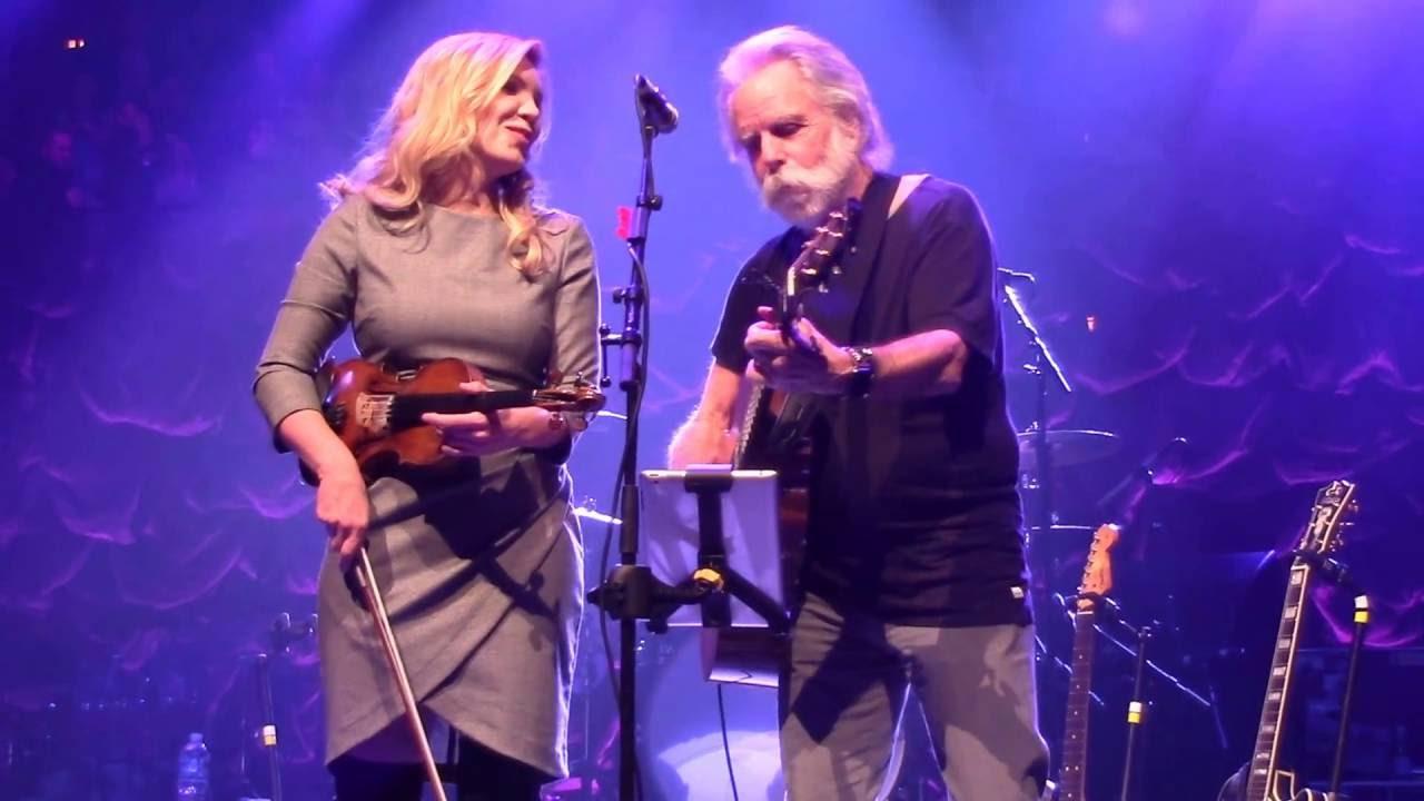 Bob Weir & Alison Krauss at the 2016 Warren Haynes Christmas Jam ...