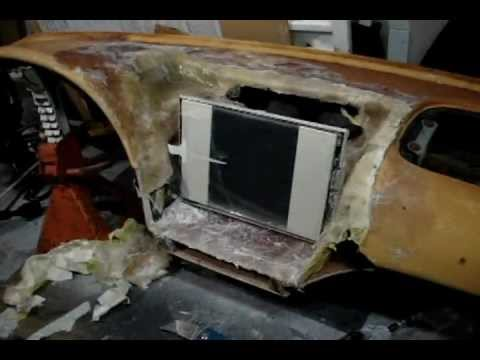 complete fiberglass dash build part 1 youtube. Black Bedroom Furniture Sets. Home Design Ideas