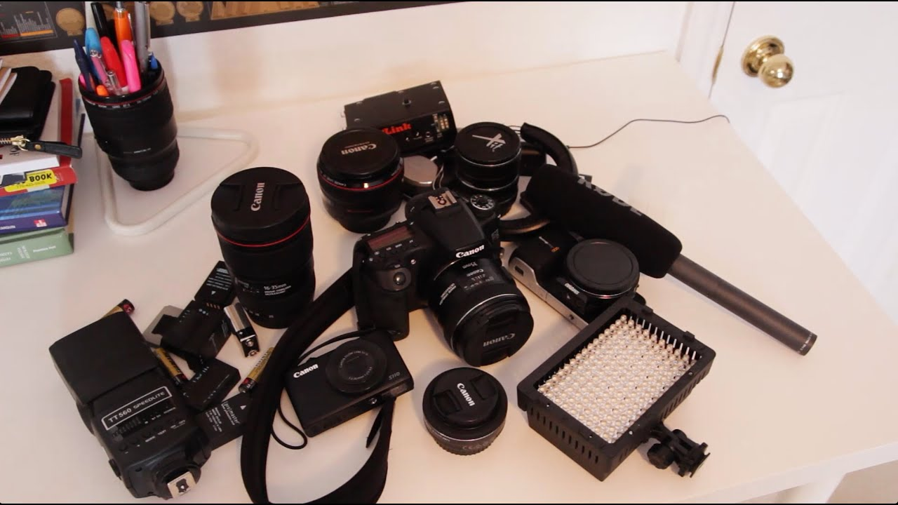 travel gear videography photography equipment what 39 s in my camera bag youtube