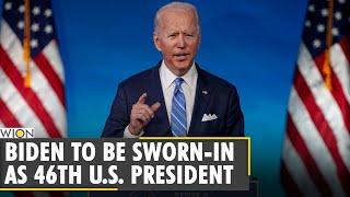 President-elect joe biden to be sworn in as the 46th president of united states america. kamala harris first female vice u....
