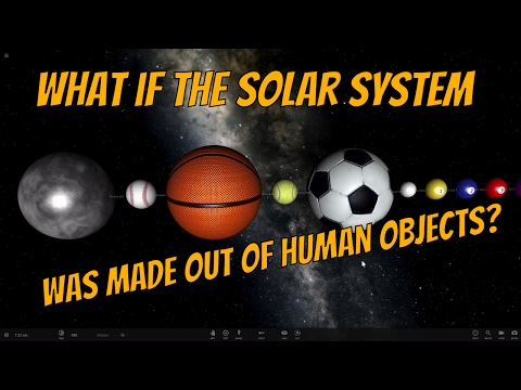 Creating a Solar System Out of Human Made Objects - Universe